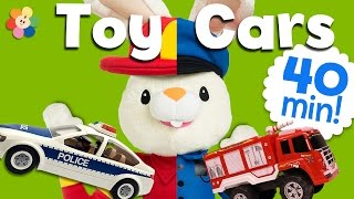 Download Unboxing Toy Trucks & Cars | Fire Truck, Tractor, Police Car | Truck Videos for kids | BabyFirst TV Video