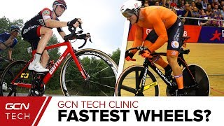 Download Which Are Fastest - Deep Section, Trispoke Or 5 Spoke Wheels?   GCN Tech Clinic Video