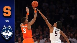 Download Syracuse vs. UConn Men's Basketball Highlights (2016-17) Video