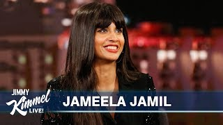 Download Ted Danson Almost Killed Jameela Jamil Video