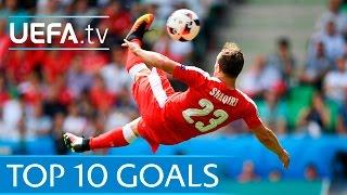 Download Top ten UEFA EURO 2016 goals Video