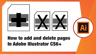 Download How To Add And Delete Pages In Adobe Illustrator CS6+ Video