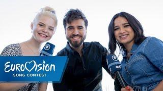 Download Chingiz und die S!sters | Speeddate | Eurovision Song Contest Video