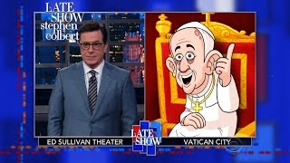 Download Cartoon Pope Francis Roasts Donald Trump Video