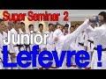 Download Junior LEFEVRE Seminar - ジュニア・ルフェーブルセミナー 相手の構えにぶつからない回し蹴り 編 [Lesson] Video
