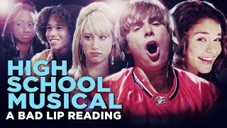 Download ″HIGH SCHOOL MUSICAL: A BAD LIP READING″ - Bad Lip Reading and Disney XD Present: Video