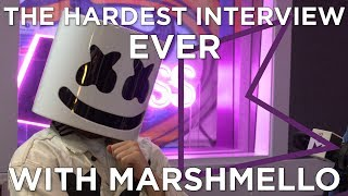 Download The HARDEST interview EVER with Marshmello Video