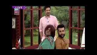 Download Faysal Qureshi,Mr And Mrs Hasan, Mr And Mrs Faiq & Aadi playing ″Mizaj Ashnai″ Video