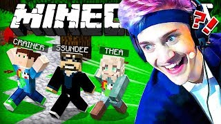 Download NINJA CHASES US IN MINECRAFT!! Minecraft Hide and Seek Video