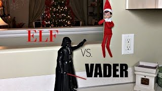 Download ELF ON THE SHELF VS. DARTH VADER! Video