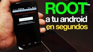 Download ROOT a tu dispositivo Android en menos de 10 segundos! Video