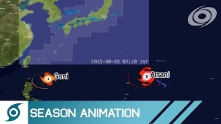 Download 2015 Pacific Typhoon Season Animation Video