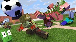 Download Monster School : FIFA FOOTBALL ZOMBIE APOCALYPSE Challenge - Minecraft Animation Video