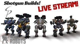 Download War Robots - Brawl your Brains Out! Shotgun Builds Stream Video