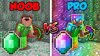 Download Minecraft NOOB vs. PRO: EMERALD BATTLE in Minecraft! Video