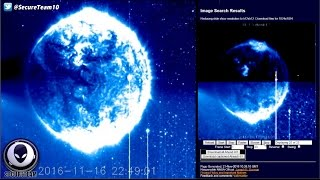 Download GIANT Alien Object On NASA Satellite Imagery? 11/21/16 Video