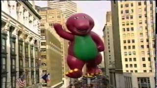 Download Barney in the 1996 Macy's Thanksgiving Day Parade Video