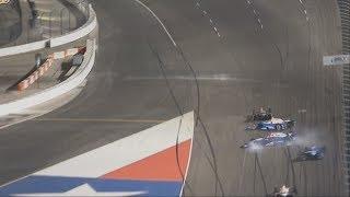 Download IndyCar Series 2017. Texas Motor Speedway. Takuma Sato, Scott Dixon & Max Chilton Crash Video