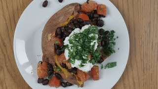 Download Microwave Loaded Sweet Potato Recipe from Sargent Choice Video