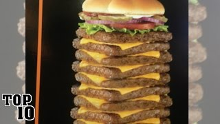 Download Top 10 Shocking Fast Food Items Video