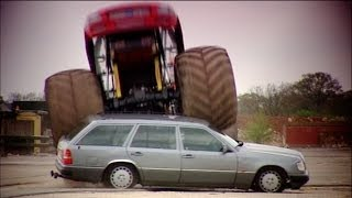 Download Can You Kill An Old Merc? Part 3: Crushing It With A Monster Truck - Fifth Gear Video