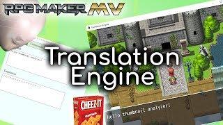 Download Translation Engine Plugin - RPG Maker MV Video