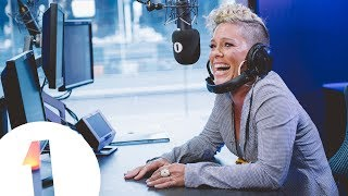 Download P!nk Forgets Her Own Lyrics!! Video