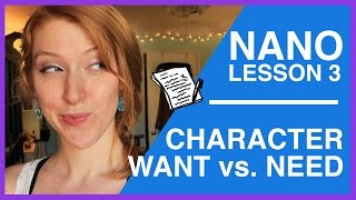 Download Character Want vs. Need | NaNoWriMo Video