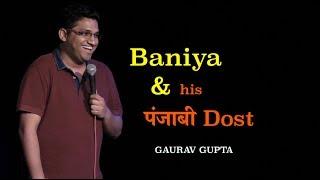 Download Baniya and his Punjabi dost | Standup Comedy by Gaurav Gupta Video