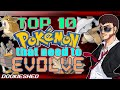 Download Top 10 Pokémon that Need to Evolve! Video