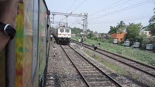 Download Full Journey on India's Fastest Duronto: Dhanbad-Sealdah (With Rajdhani Overtake) Video