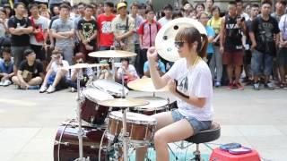 Download 20140703 爵士鼓 羅小白 - Fantastic Baby Video