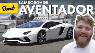 Download Driving the Lamborghini Aventador S | The New Car Show | Donut Media Video