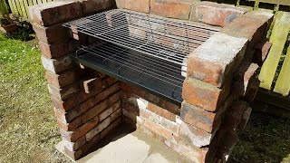 Download My first and last bricks project - BRICK BBQ GRILL Video