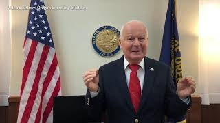 Download Oregon Secretary of State discusses cancer battle Video