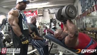 Download Ronnie Coleman and Cory Mathews | Chest Training Video