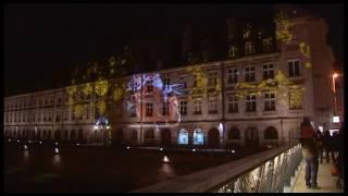 Download Besançon illumine ses façades pour les fêtes de Noël Video