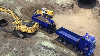 Download RC Kamionok TEMOFESZT 2018 RC TRUCK CONSTRUCTION SECONDDAY Video