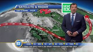 Download Latest Forecast: Aug 15th Video