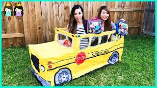Download Wheels on the Bus School Songs for Kids | Pretend Play with Princess ToysReview Video