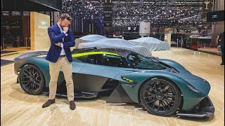 Download The First FULLY OPERATING Aston Martin Valkyrie! (exclusive) Video
