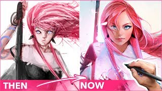 Download REDRAWING MY OLD ART! :D Video