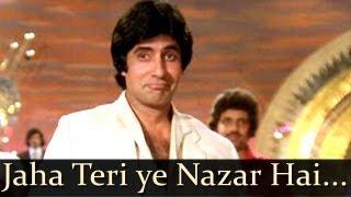 Download Kaalia - Jahan Teri Yeh Nazar Hai - Kishore Kumar Video
