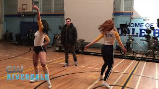 Download BTS: Riverdale- The Cast Rehearses with Choreographer Paul Becker Video