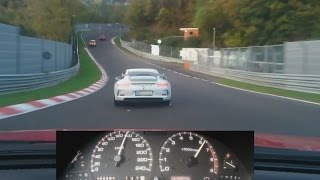 Download Nissan 200SX with Porsche 991 GT3 on Nürburgring Nordschleife onboard 日産 ニュルブルク BTG October 2014 Video