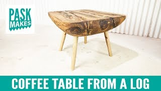 Download Coffee Table from a Log Video