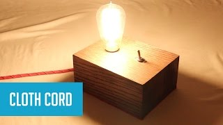 Download DIY Industrial-Style Lamp with Edison Bulb Video