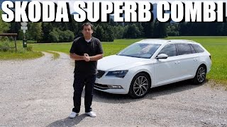 Download Skoda Superb Combi (estate) (ENG) - First Drive and Review Video