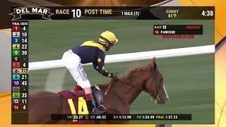 Download Parkour wins race 10 at Del Mar 12/1/19 Video