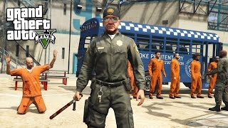 Download PRISON GUARD!! (GTA 5 Mods PLAY AS A COP MOD) Video